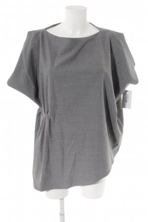 COS Oversized Bluse grau Business-Look