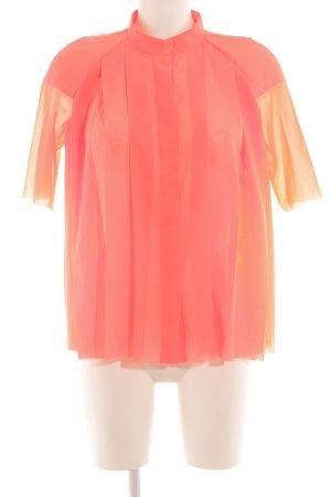 COS Oversized blouse neonoranje extravagante stijl
