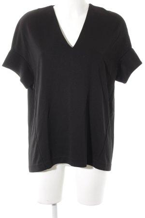 COS Oversized Bluse schwarz Elegant
