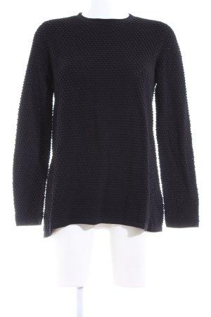 COS Oversized Pullover schwarz Business-Look