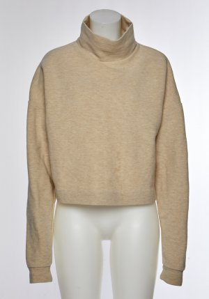 COS Sweater gold-colored cotton