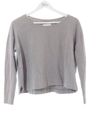 COS Oversized Pullover hellgrau-hellbeige Casual-Look