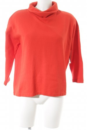 COS Oversized Pullover orange Casual-Look