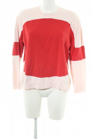 COS Oversized Pullover rot-rosé Casual-Look