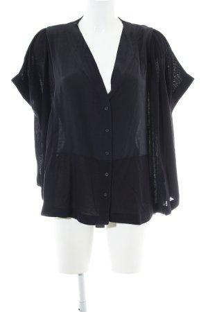 COS Camisa holgada negro estilo «business»