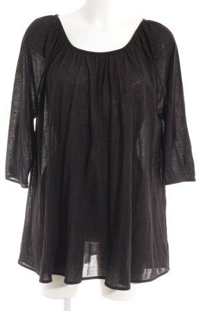 COS Oversized shirt zwart casual uitstraling