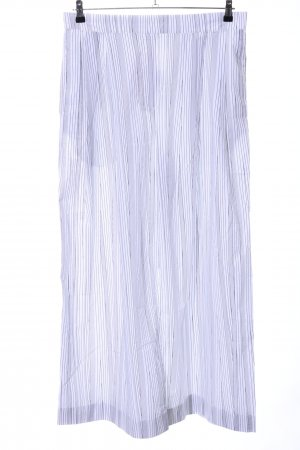 COS Palazzo Pants white-light grey striped pattern casual look