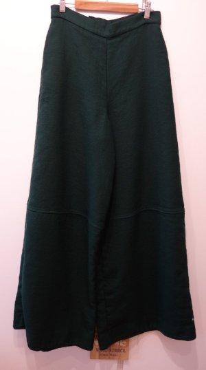 COS Pantalon Wide Leg Pants Hose Gr. S (36) waldgrün Mori Girl Shabby Chic Retro