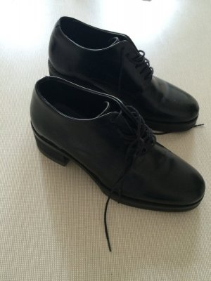 Cos Plateau, Office Schuhe, Leder