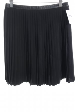COS Pleated Skirt black elegant