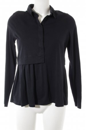 COS Polo Top black athletic style