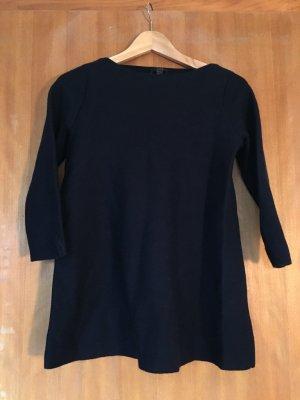 COS Wollen trui donkerblauw Wol