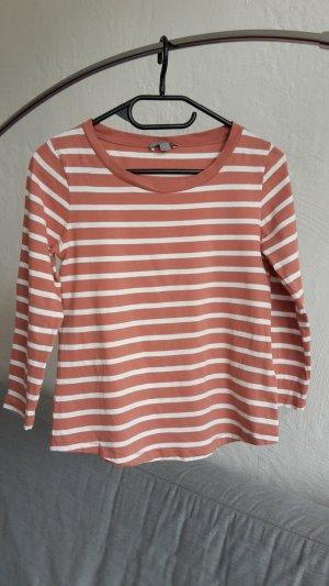 COS Pullover 3/4 gestreift XS 34 Sweatshirt