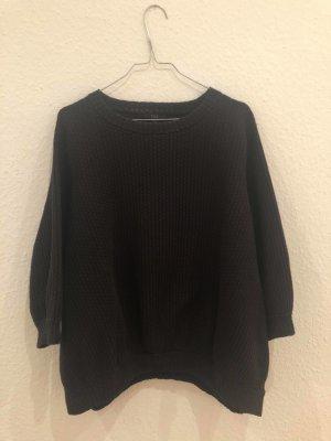 COS Maglione oversize nero Cotone