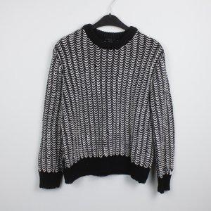 COS Pullover Gr. M schwarz weiß (18/10/084)