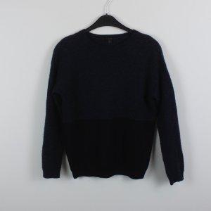 COS Pullover Gr. S schwarz dunkelblau (18/10/236)