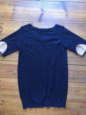 COS Vestido tipo jersey azul-azul oscuro Algodón