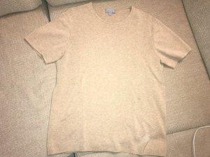 COS Sweater met korte mouwen room-camel
