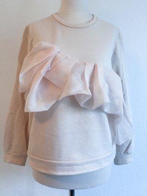 COS Pullover mit asymmetrischen Rüschen