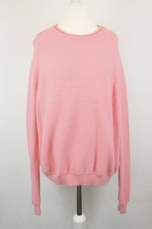 COS Knitted Sweater pink cotton