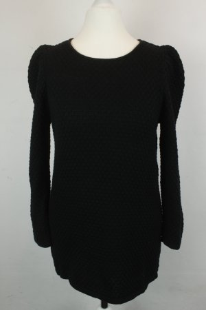 COS Knitted Sweater black cotton