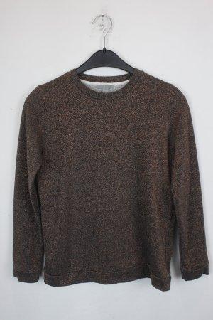 COS Pullover Sweater Gr. XS braun blau (18/9/098)