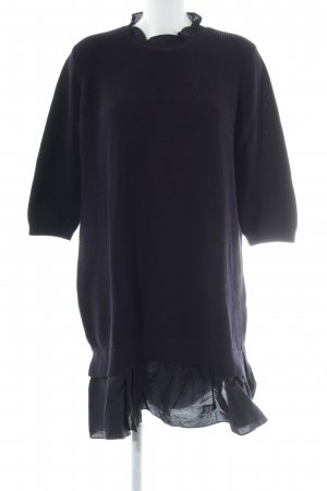 COS Sweater Dress dark blue casual look