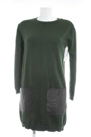 COS Sweaterjurk donkergroen casual uitstraling
