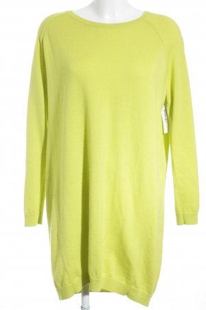 COS Pulloverkleid neongrün Street-Fashion-Look