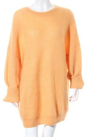 COS Pulloverkleid orange klassischer Stil