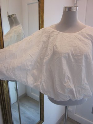 COS Pump Bluse Weiss Gr 40