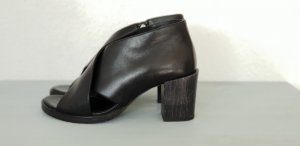 COS High Heel Sandal black leather