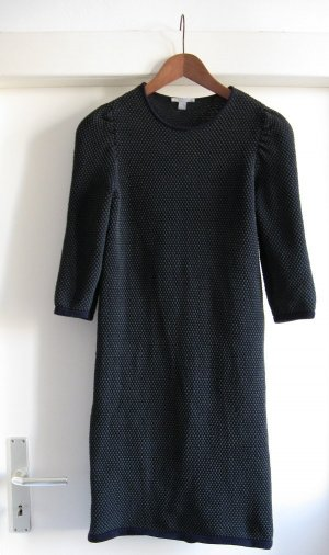 COS | Raised-knit dress (blau, grün)