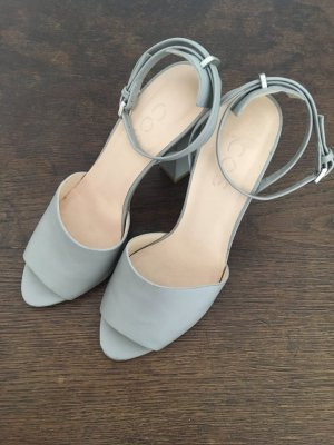COS Strapped High-Heeled Sandals light grey