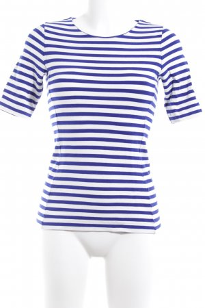 COS Stripe Shirt white-blue striped pattern casual look