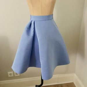 COS Flared Skirt baby blue