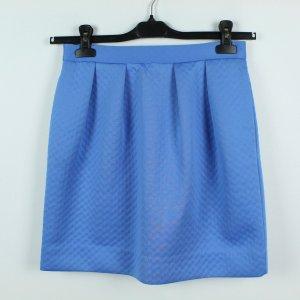 COS Jupe ballon bleu fluo tissu mixte