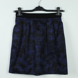 COS Skater Skirt black-dark blue