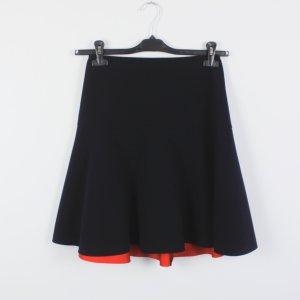 COS Skater Skirt black-red mixture fibre
