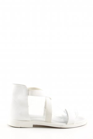 COS Roman Sandals white casual look