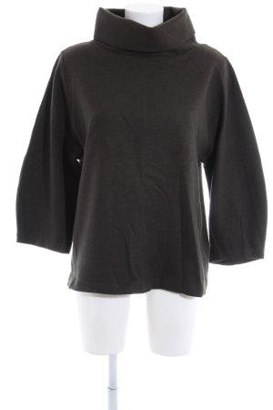 COS Maglione dolcevita nero stile casual