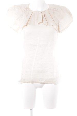 COS Rüschen-Bluse rosé Romantik-Look