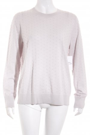 COS Crewneck Sweater oatmeal street-fashion look