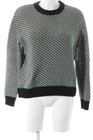 COS Kraagloze sweater veelkleurig klassieke stijl