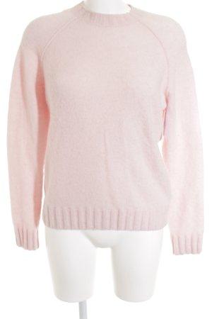 COS Rundhalspullover rosa-hellrosa Casual-Look