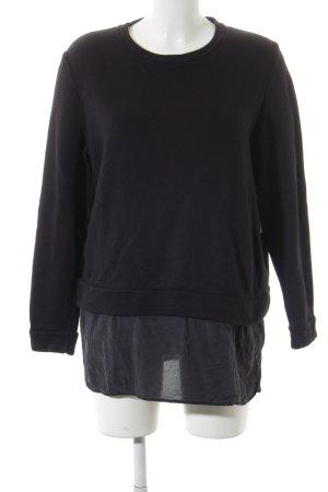 COS Rundhalspullover schwarz minimalistischer Stil