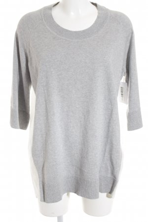 COS Crewneck Sweater silver-colored-white casual look