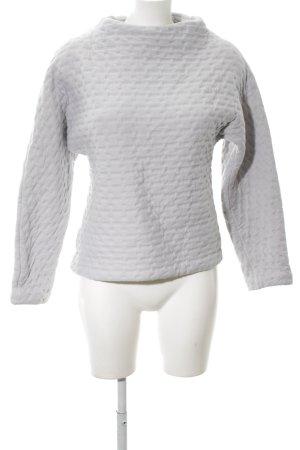 COS Maglione girocollo bianco motivo trapuntato stile casual