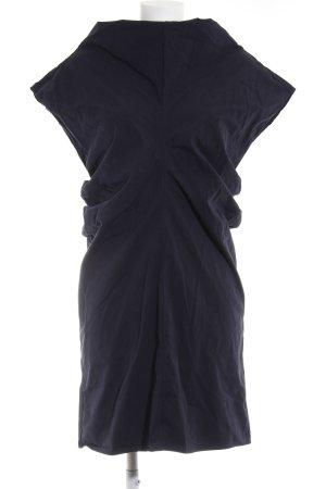 COS Tube Dress dark blue casual look