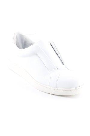 COS Schlüpfsneaker weiß-hellbeige Casual-Look
